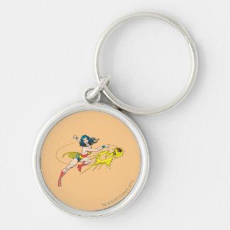 Wonder WomanThrows Crown Keychains