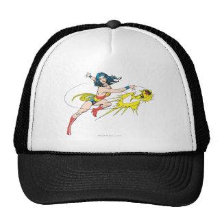 Wonder WomanThrows Crown Trucker Hat