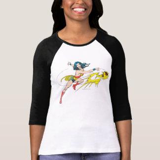 Wonder WomanThrows Crown Tshirt