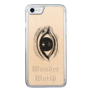 """Wonder World"" - Eye Carved iPhone 7 Case"