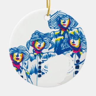wondercrowd-tentacles ceramic ornament
