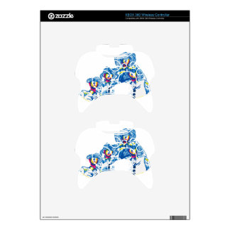 wondercrowd-tentacles xbox 360 controller decal