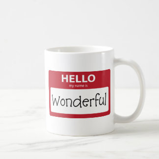 wonderful 001 coffee mug