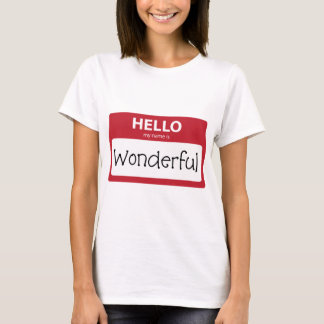 wonderful 001 T-Shirt