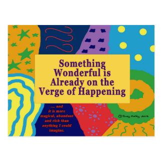 Wonderful Abundance Confidence Reminder Guide Postcard
