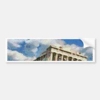 Wonderful Acropolis in Athens Bumper Sticker