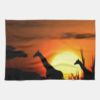 Wonderful African Sunset Towel