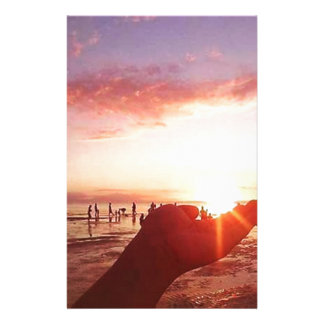 Wonderful and Incredible Sunset in the Philippines Stationery