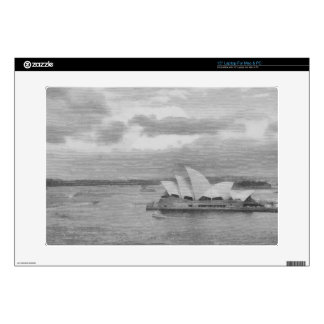 Wonderful architecture of Sydney Opera House Decal For Laptop