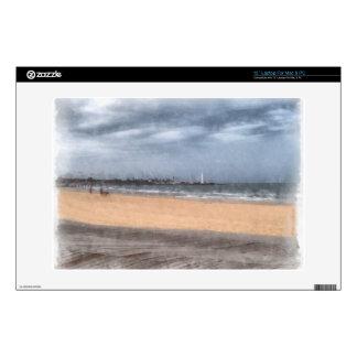 "Wonderful beach skin for 13"" laptop"