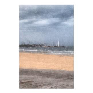 Wonderful beach stationery