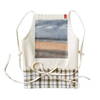 Wonderful beach zazzle HEART apron