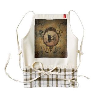 Wonderful bird zazzle HEART apron