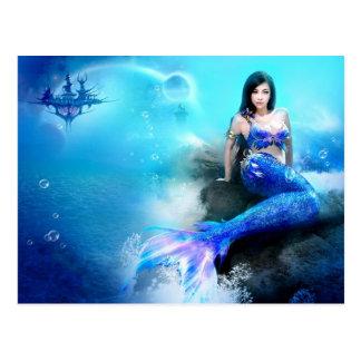 Wonderful blue mermaid
