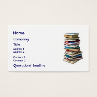 Wonderful Books, Business Card