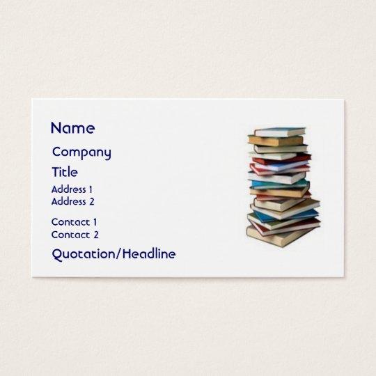 Wonderful Books, Business Card