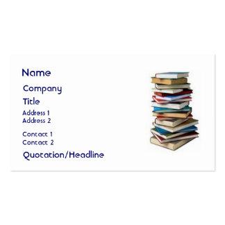 Wonderful Books, Business Card Template