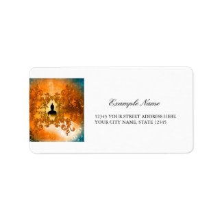 Wonderful buddha label