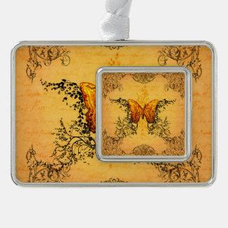 Wonderful butterflies christmas ornament