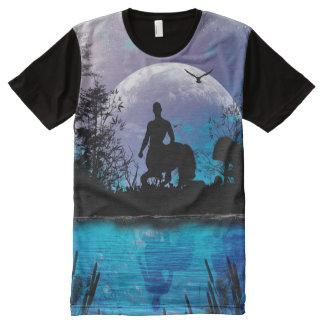 Wonderful centaur silhouette All-Over print t-shirt