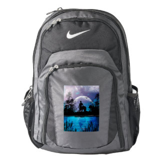 Wonderful centaur silhouette backpack