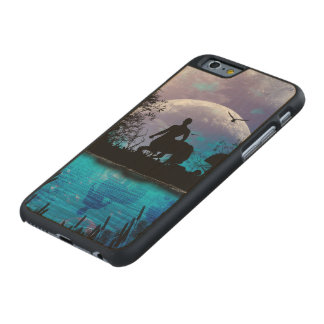 Wonderful centaur silhouette carved® maple iPhone 6 case