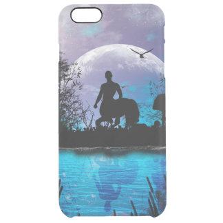 Wonderful centaur silhouette clear iPhone 6 plus case