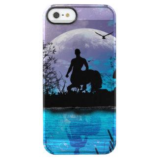 Wonderful centaur silhouette clear iPhone SE/5/5s case