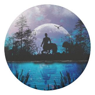 Wonderful centaur silhouette eraser