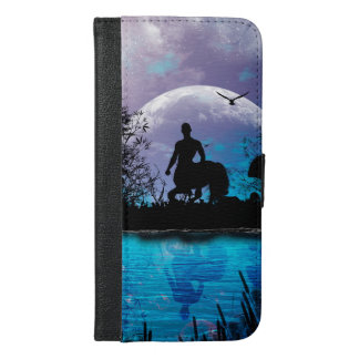 Wonderful centaur silhouette iPhone 6/6s plus wallet case