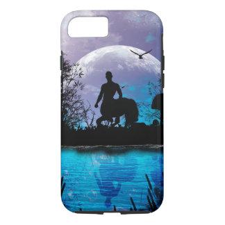 Wonderful centaur silhouette iPhone 7 case