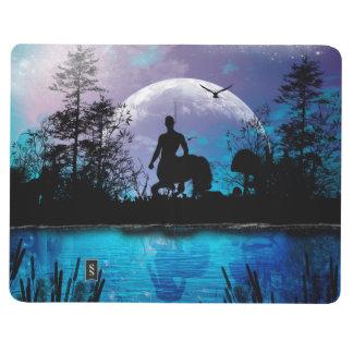 Wonderful centaur silhouette journal