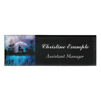 Wonderful centaur silhouette name tag