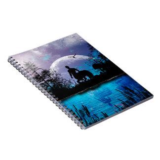Wonderful centaur silhouette notebook