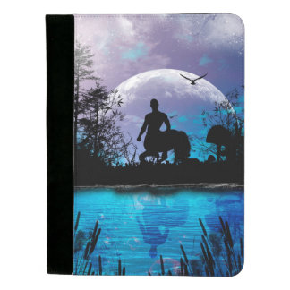 Wonderful centaur silhouette padfolio