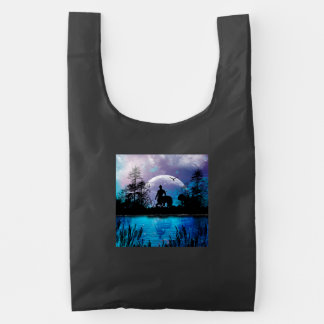 Wonderful centaur silhouette reusable bag