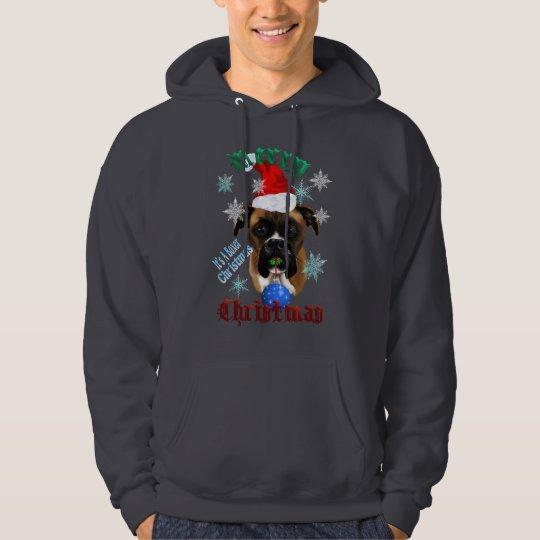 Wonderful-Christmas Boxer Dog Shirt
