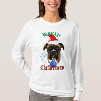Wonderful-Christmas Boxer Dog Shirt