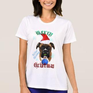 Wonderful-Christmas Boxer Dog Shirts