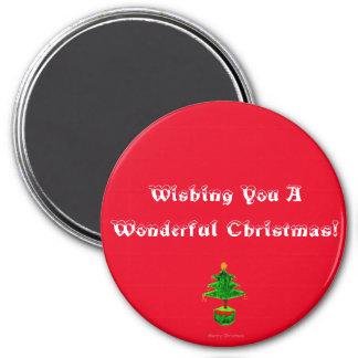 Wonderful Christmas! Magnet