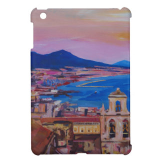 Wonderful City View of Naples with Mount Vesuv Case For The iPad Mini