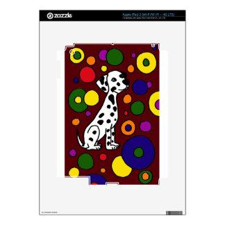 Wonderful Colorful Dalmation and Spots Art iPad 3 Skins
