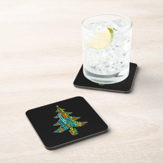 Wonderful Counselor Mighty God Prince of Peace Beverage Coasters