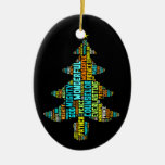 Wonderful Counselor Mighty God Prince of Peace Ceramic Ornament
