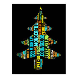Wonderful Counselor Mighty God Prince of Peace Postcard