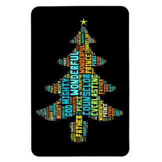 Wonderful Counselor Mighty God Prince of Peace Rectangular Photo Magnet