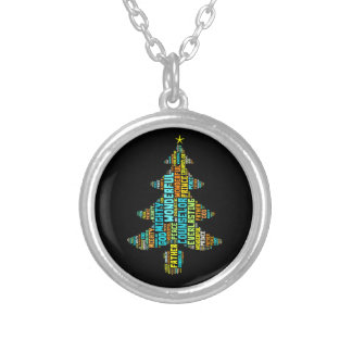 Wonderful Counselor Mighty God Prince of Peace Round Pendant Necklace
