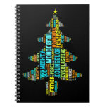 Wonderful Counselor Mighty God Prince of Peace Spiral Note Book