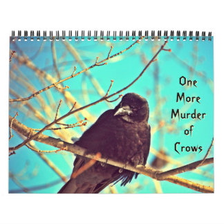 Wonderful Crow Photography Calendar
