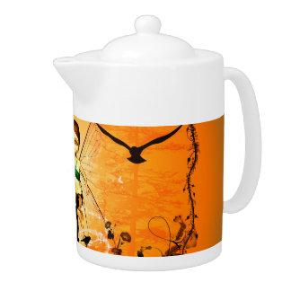 Wonderful, cute fairy teapot